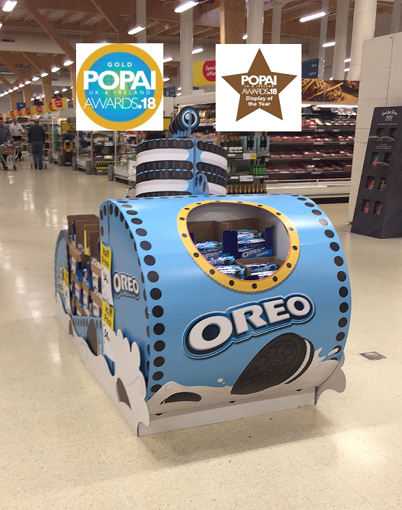 Oreo Cookie POP Display Awards